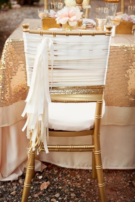 decoration de mariage couleur metallique (5)