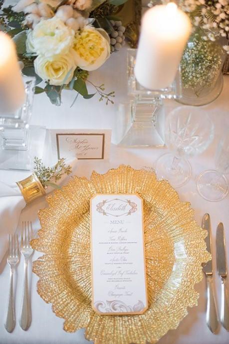 decoration de mariage couleur metallique (6)