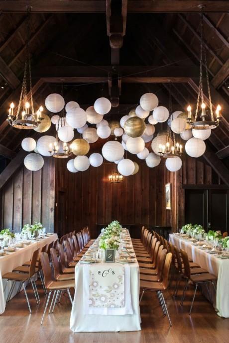 decoration de mariage couleur metallique (8)
