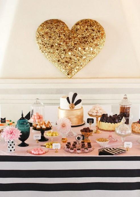 decoration de mariage en mode coeur pour la saint valentin (1)