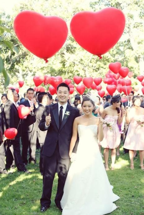decoration de mariage en mode coeur pour la saint valentin (2)