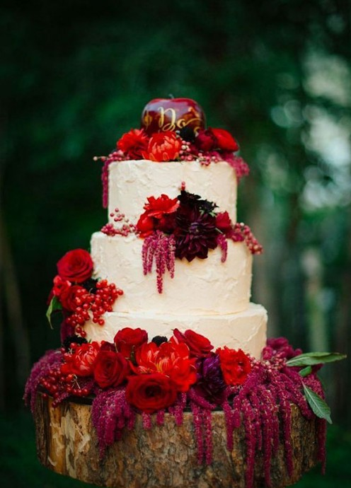 fabuleux dessert dhiver mariage