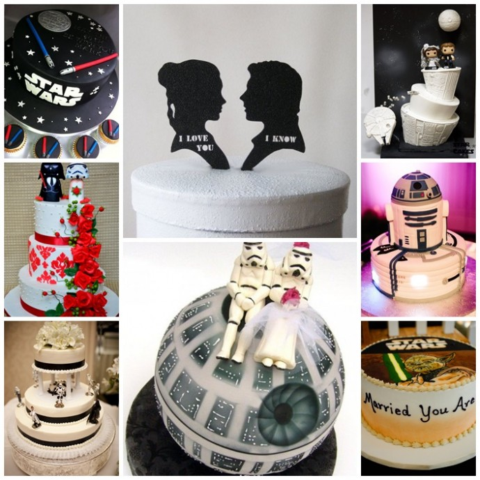Decoration Mariage Star Wars