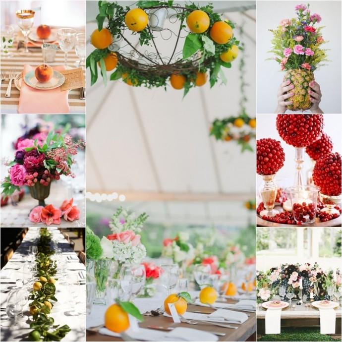 mariage et fruits