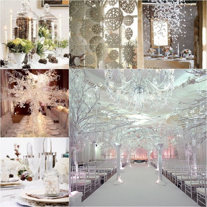 mariage neige