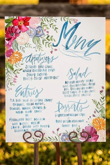 menu de mariage idee de presentation (6)
