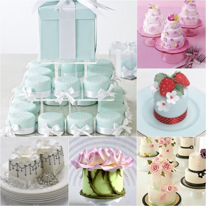 gâteaux de mariage mariage mini cakes mini wedding cakes