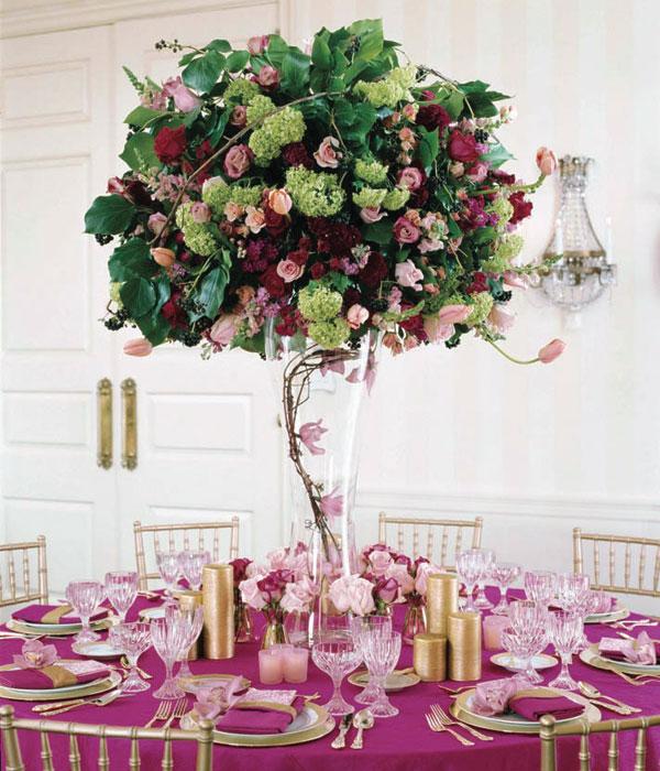Centre de table mariage 8