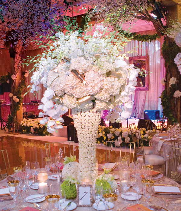 Centre de table mariage 9