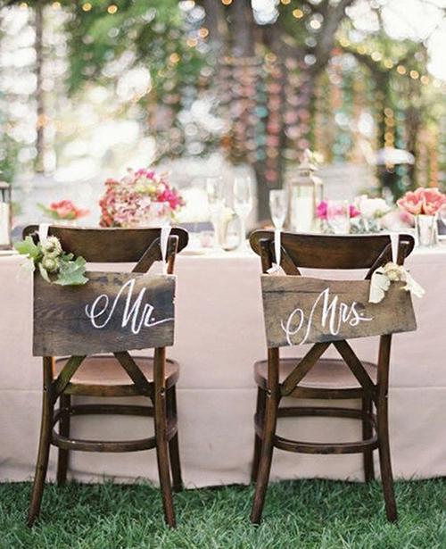 Chaise de mariage 7