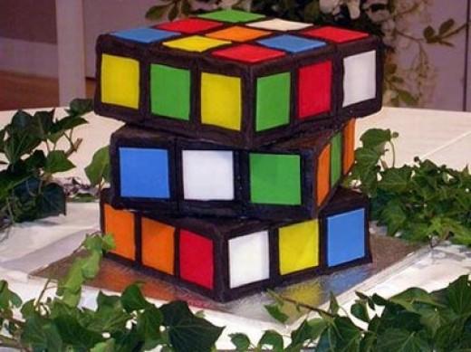 Gateau cube
