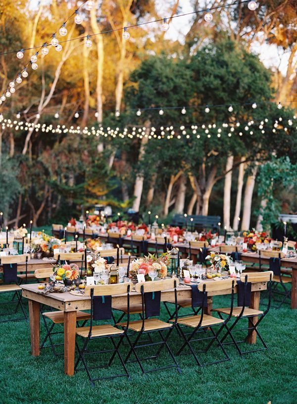 Deco Garden Party Reception: Whimsical outdoor reception decor our ...