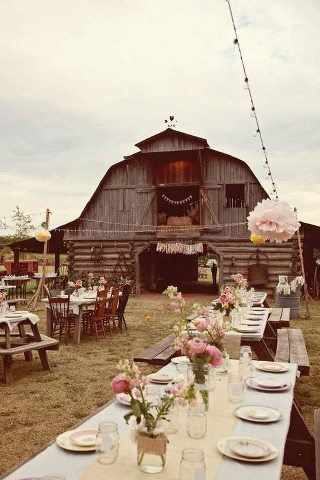 Lieu pour un mariage inspiration brocante3