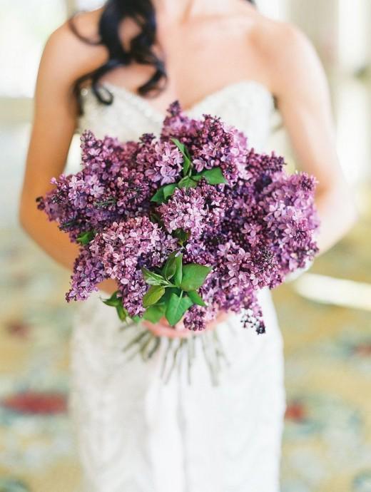 Du lilas en veux-tu en voilà pour un bouquet habillé d'une délicate couleur violette