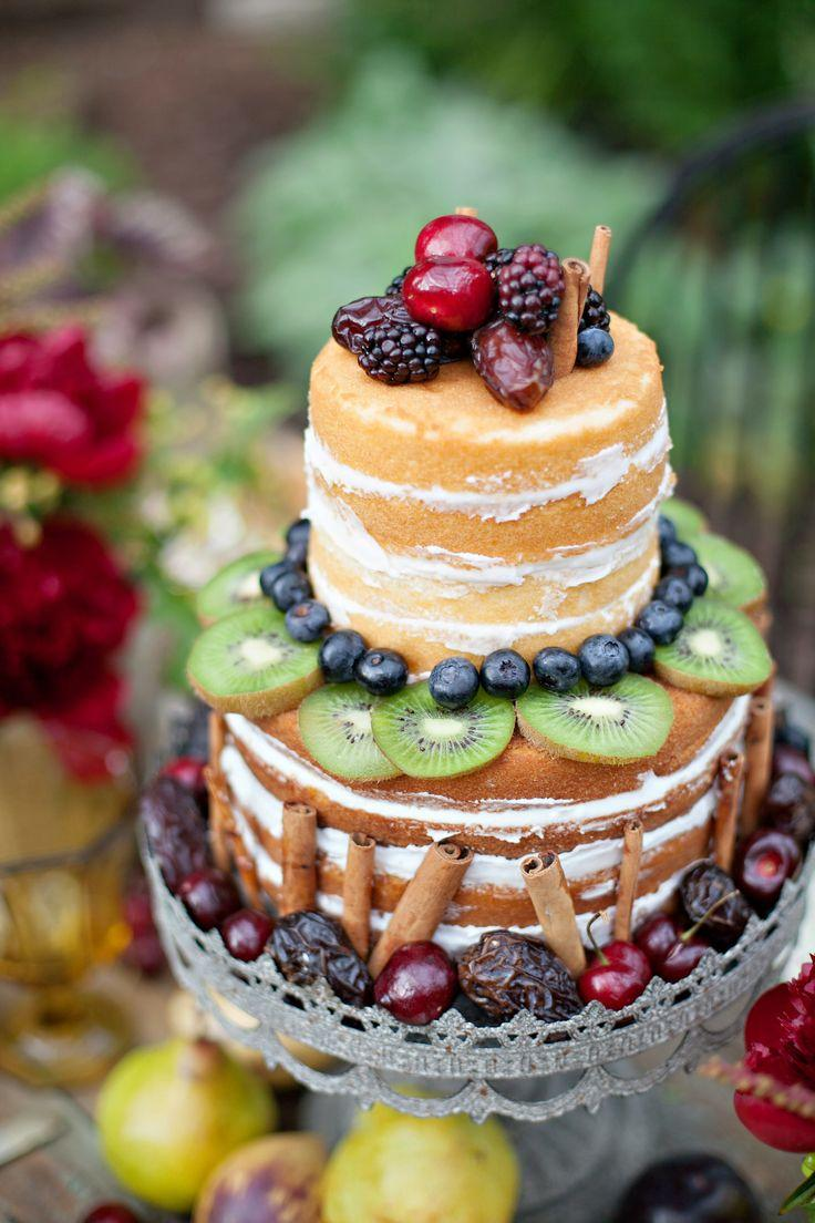 Naked cake aux fruits
