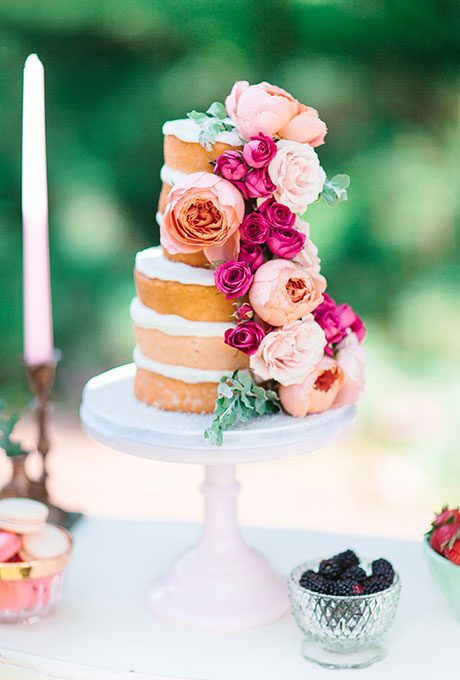 Naked cake classique