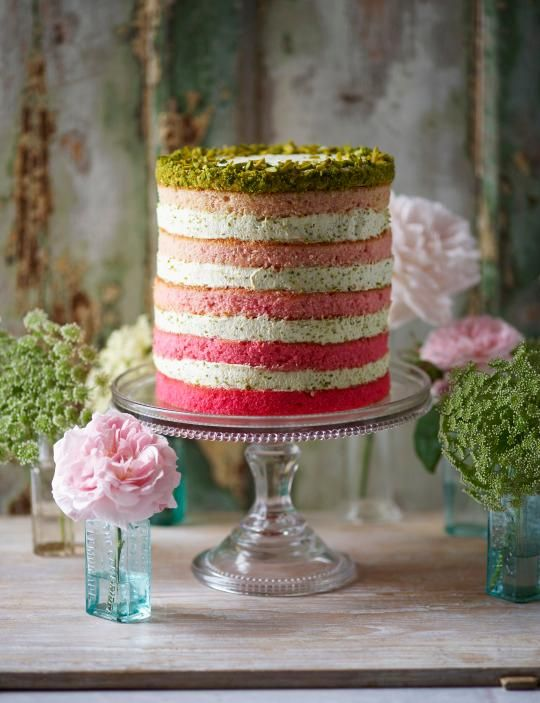 Naked cake degrade