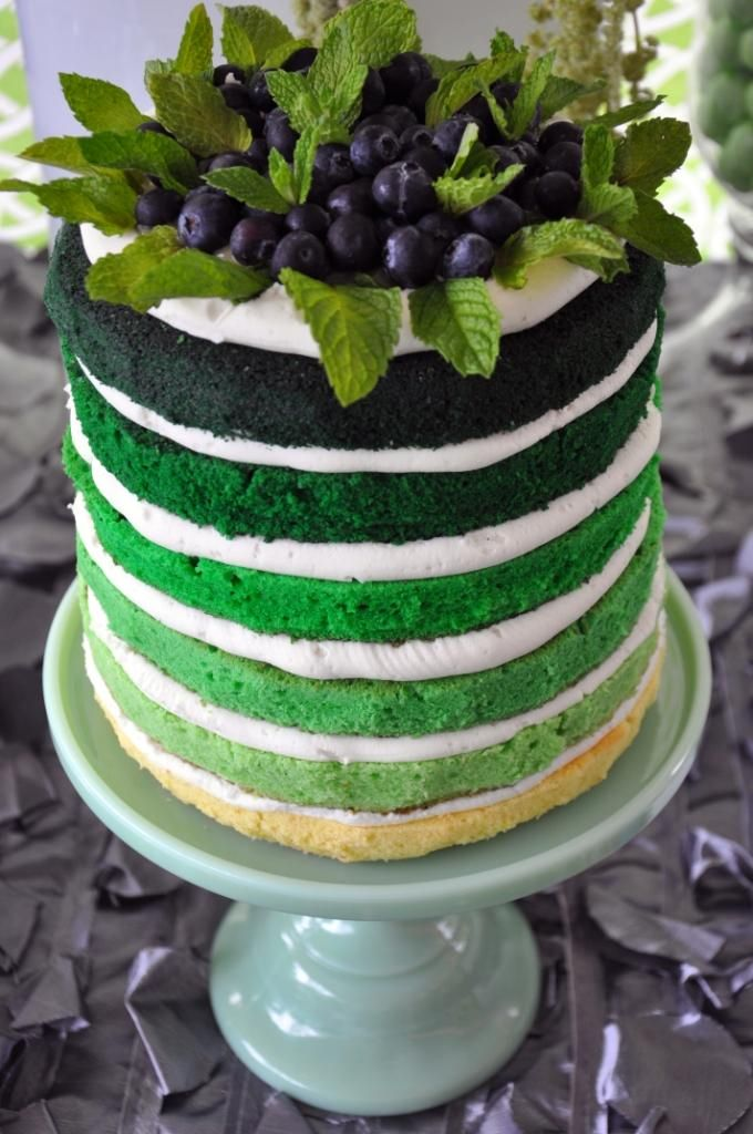 Naked cake saveur the