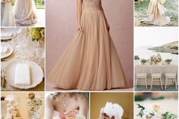 Planche d'inspiration mariage nude