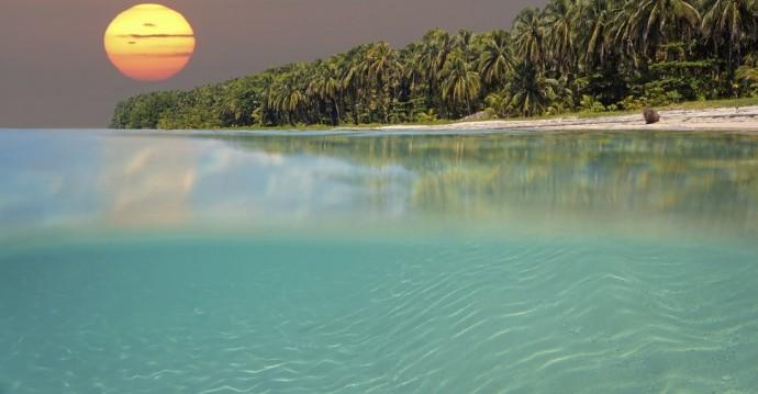 Couché de soleil - Panama