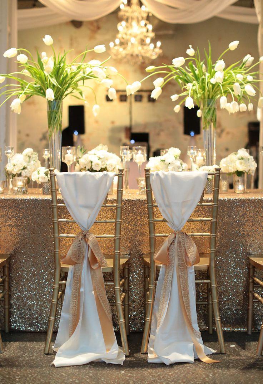 decoration de chaise de mariage