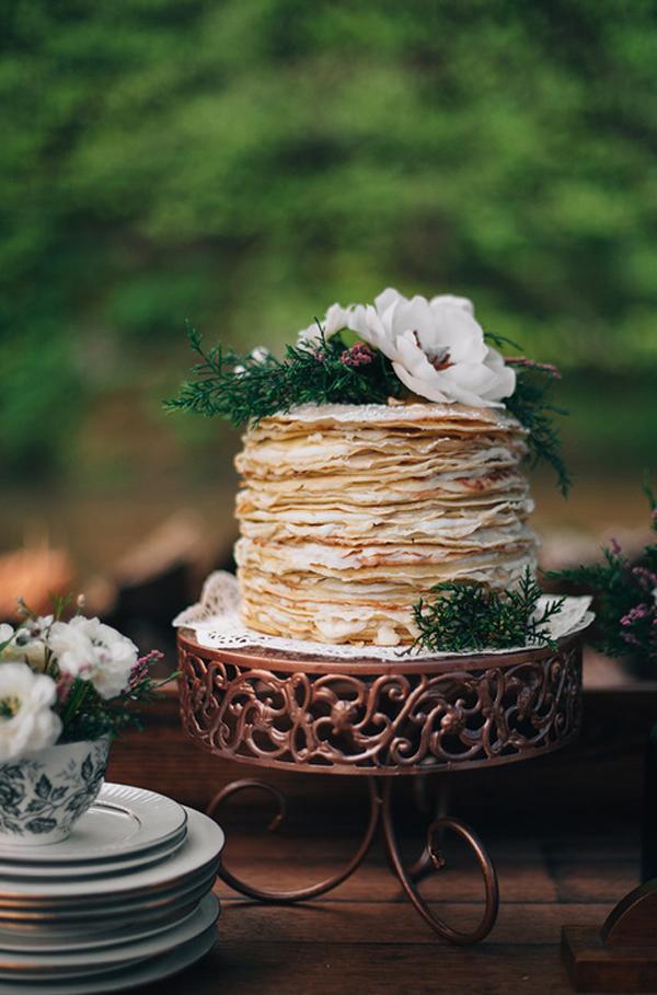 gateau de mariage avec des crepes (10)