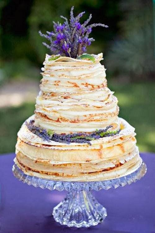 10 gâteaux de mariage où la crêpe est reine - Mariage.com