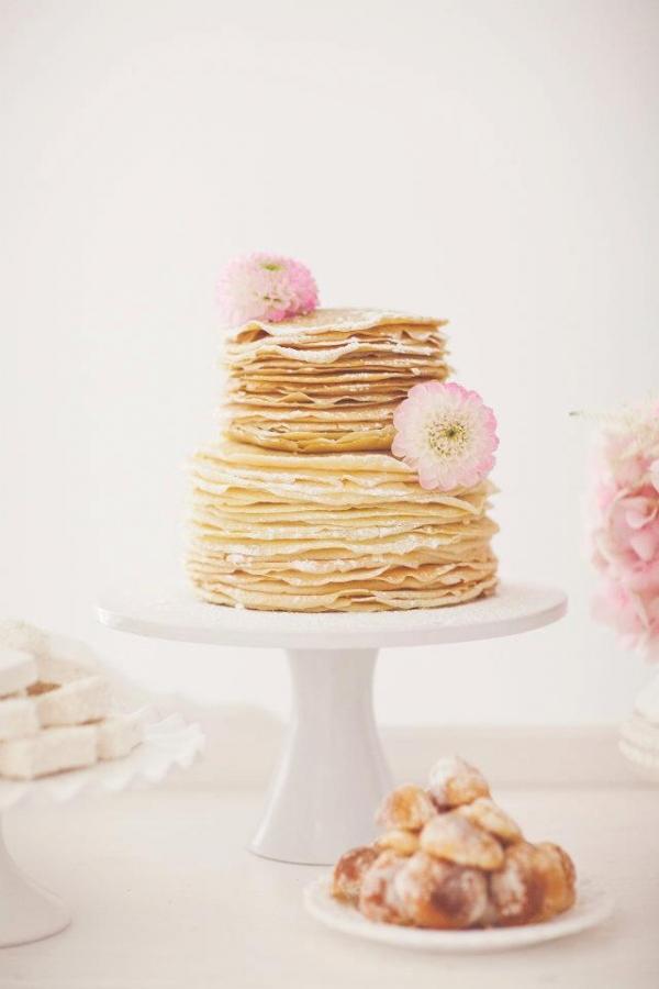gateau de mariage avec des crepes (3)