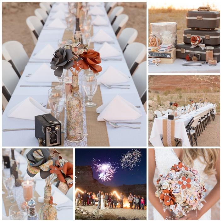 mariage desert