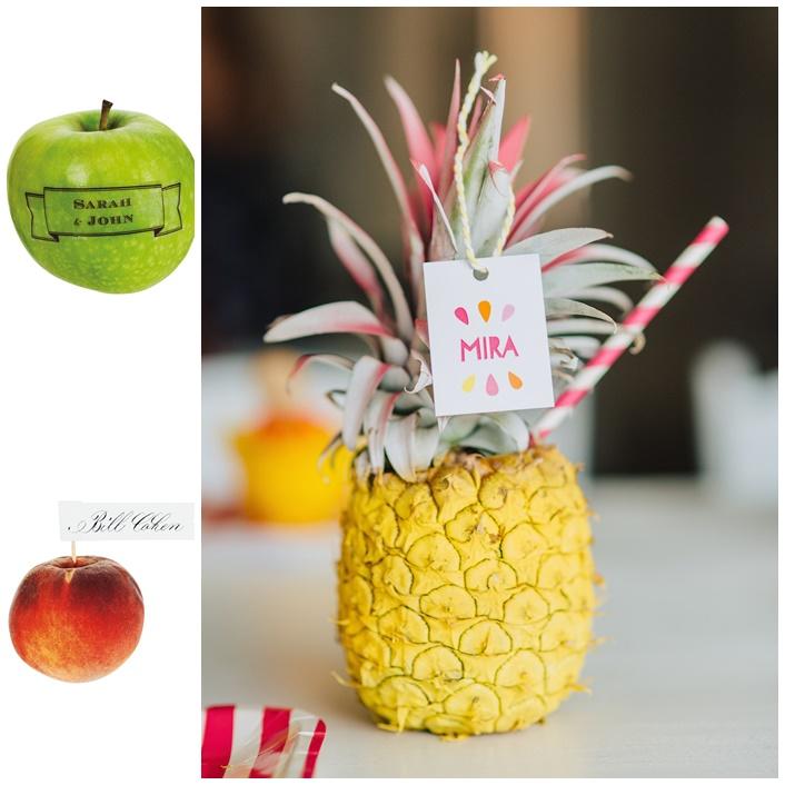 noms des invites marque page tutti frutti