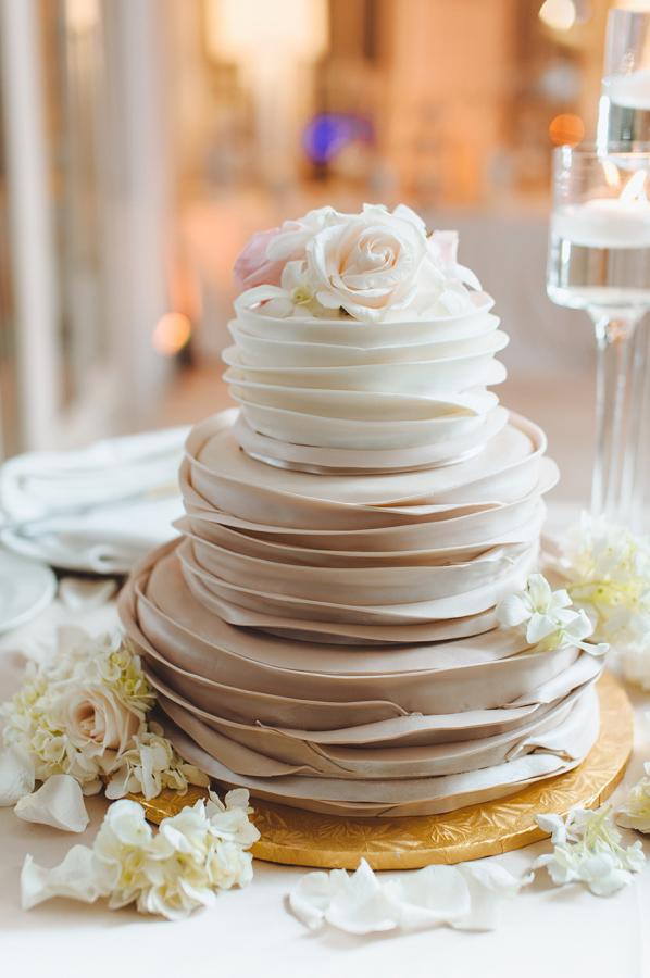 ombre wedding cake pour un mariage degrade (1)