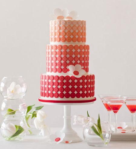 ombre wedding cake pour un mariage degrade (13)