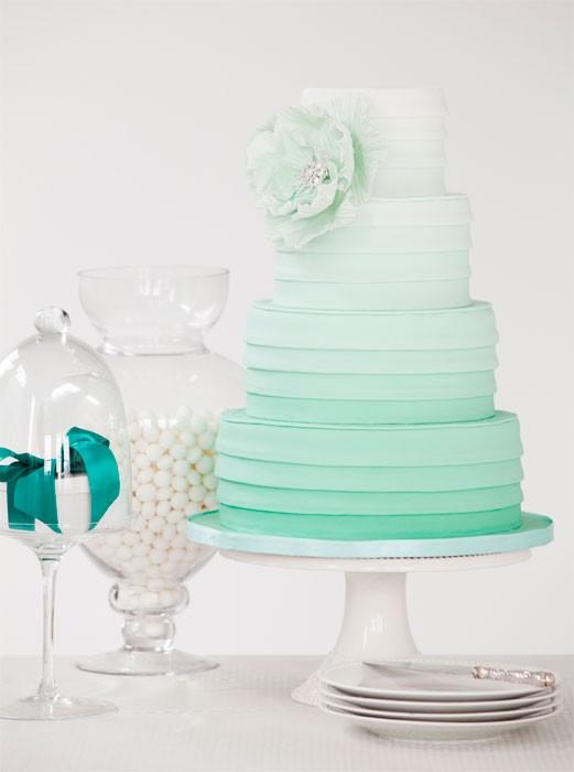 ombre wedding cake pour un mariage degrade (14)