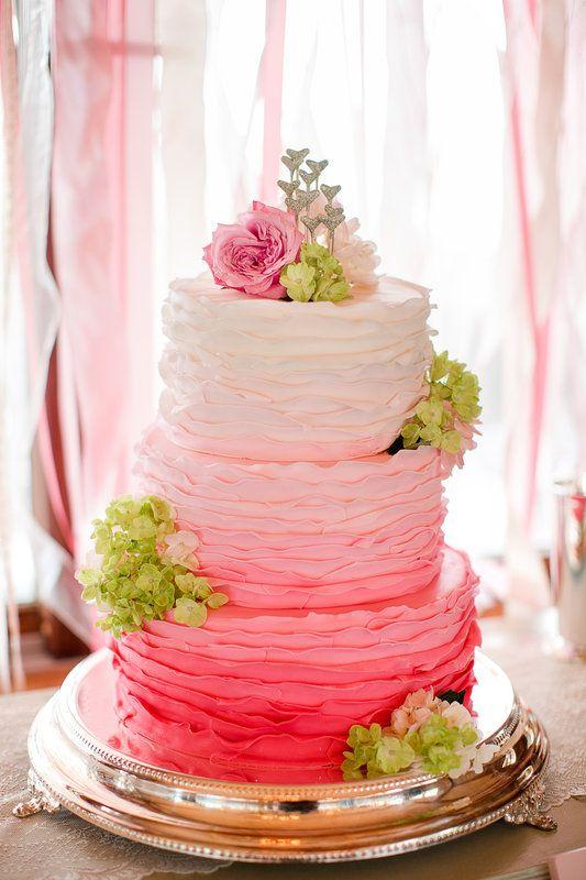 ombre wedding cake pour un mariage degrade (17)