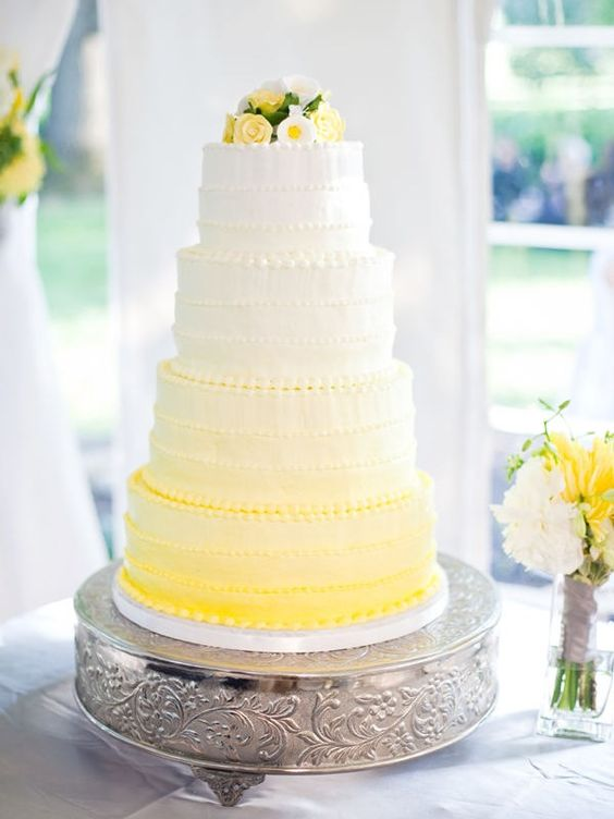 ombre wedding cake pour un mariage degrade (18)