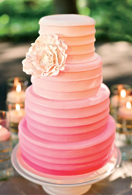 ombre wedding cake pour un mariage degrade (5)
