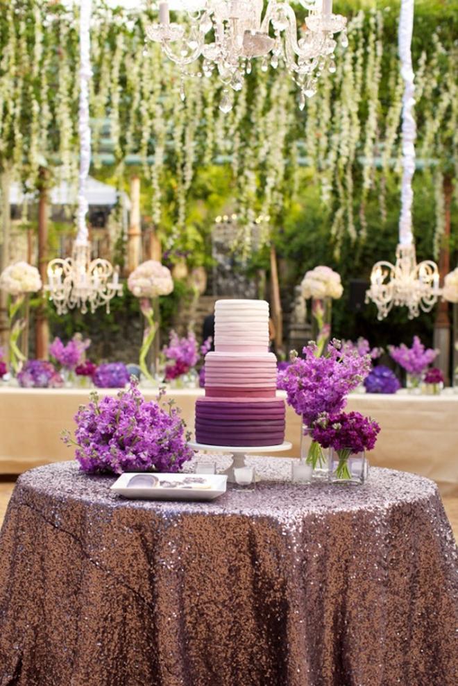 ombre wedding cake pour un mariage degrade (8)