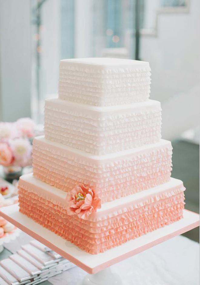 ombre wedding cake pour un mariage degrade (9)