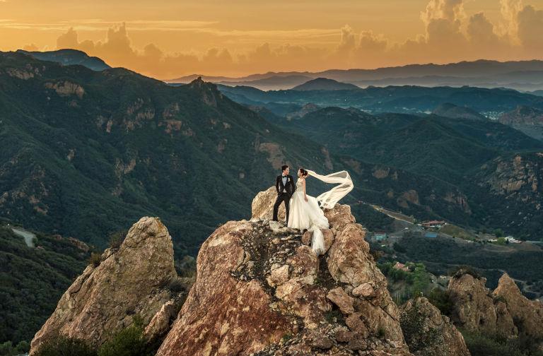 photo de mariage incroyable