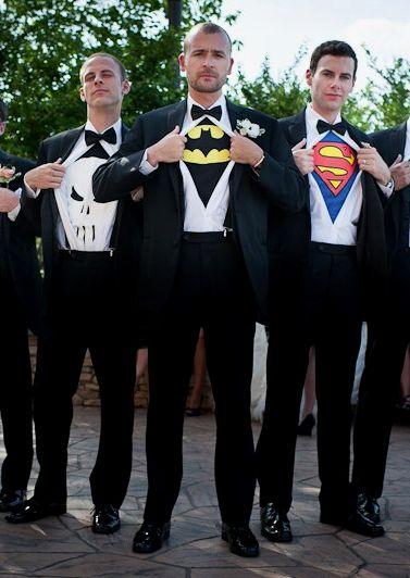super heros garcons dhonneur