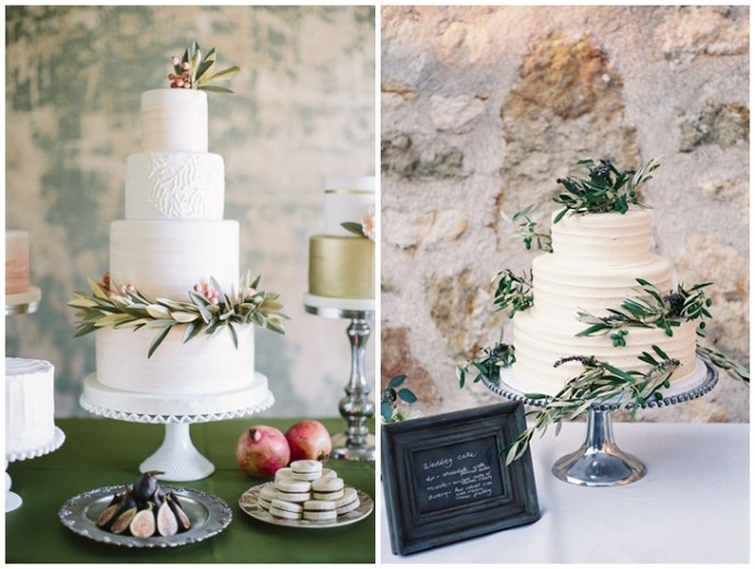 Planche d'inspiration wedding cake mariage olivier
