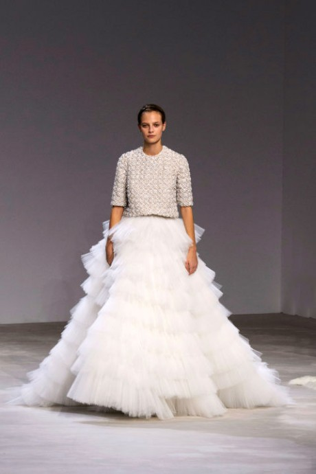 Robe à volants - Giambattista Valli