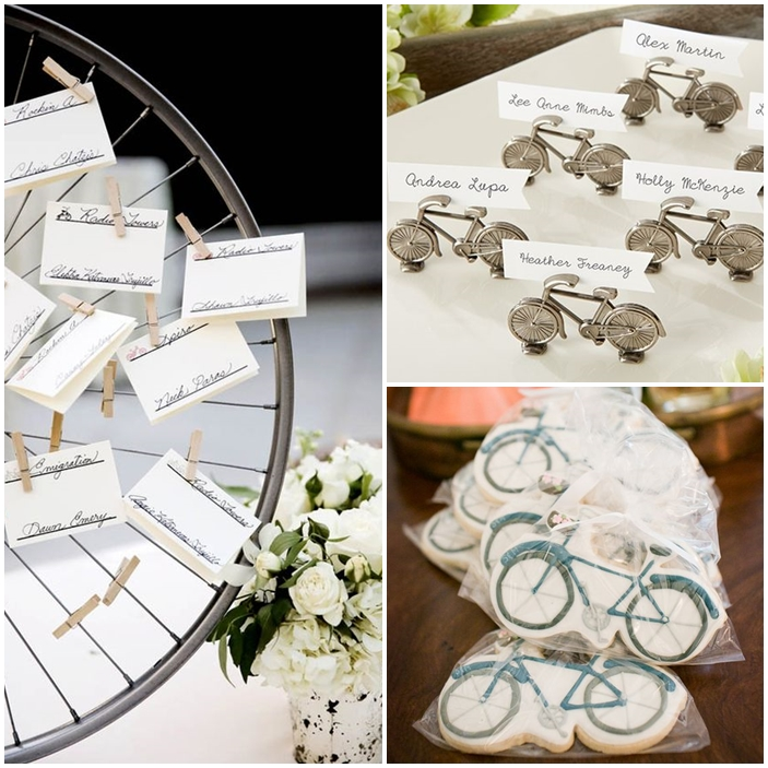 deco table bicyclette