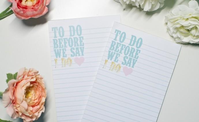 faire ses listes de mariage