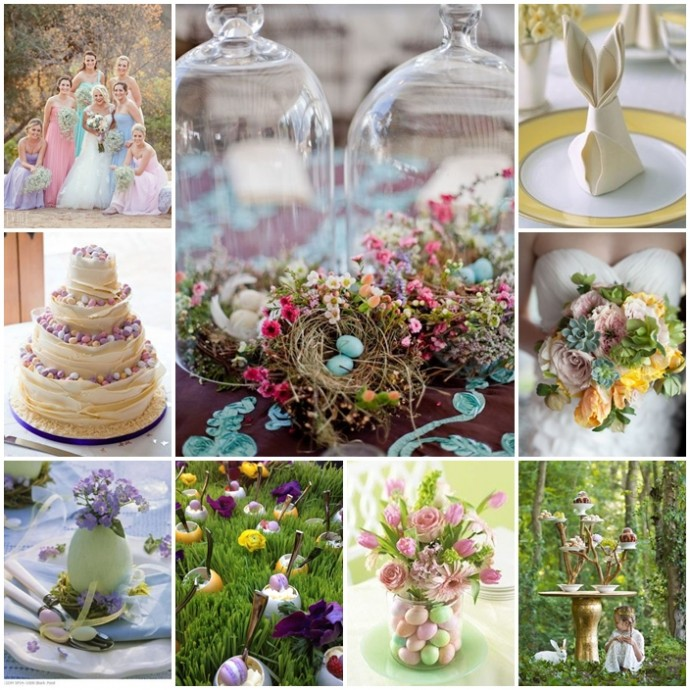 montage inspiration mariage paques