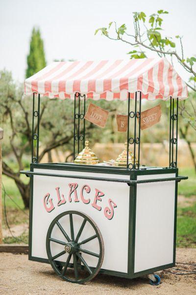bar a glace pour un mariage autour du theme de la glace