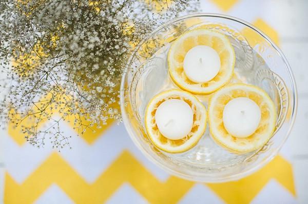 bougies-citron