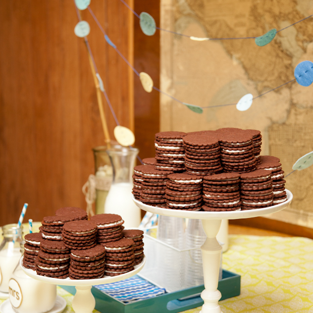 buffet biscuits enfants mariage invites