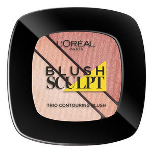 contourning loreal beige nude collection infaillible sculpt blush