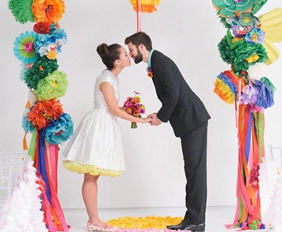 couleurs mariage a choisir arc en ciel - Copie